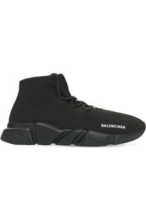 Balenciaga Men Sneakers - Speed Lace-up Tech Sneakers