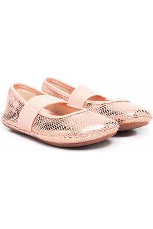 Camper Girls Ballerinas - Metallic ballerina shoes