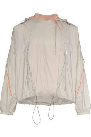 Saul Nash Men Jackets - Drawstring-hood lightweight jacket - Grey