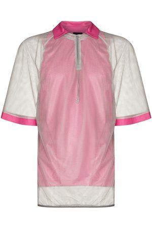 Saul Nash Men Polo Shirts - Mesh short-sleeve polo-shirt