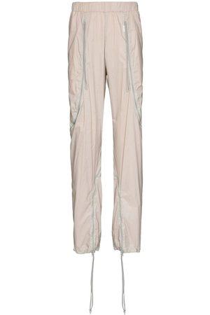 Saul Nash Men Sweatpants - Mesh-panelling track pants - Neutrals