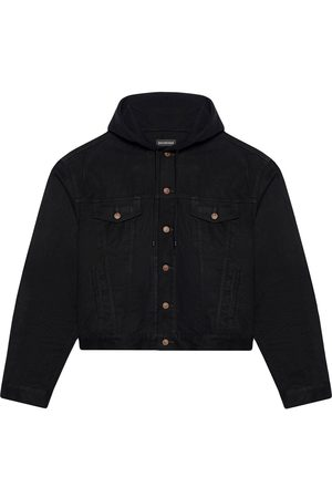 Balenciaga Jackets - Hooded shirt jacket