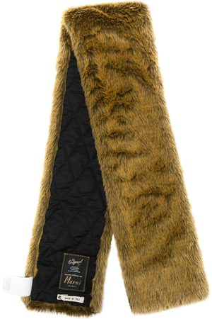 Marni Men Scarves - Faux-fur stole