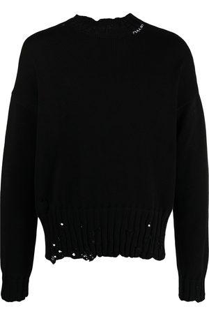 Marni Men Sweatshirts - Distressed cotton jumper
