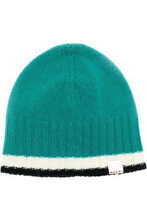 Marni Men Beanies - Ribbed beanie hat