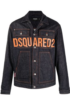 Dsquared2 Logo-print denim jacket