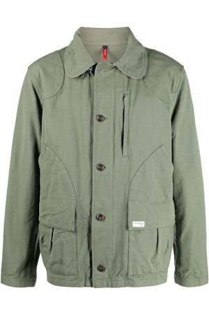FAY Men Jackets - Colour-block cotton jacket