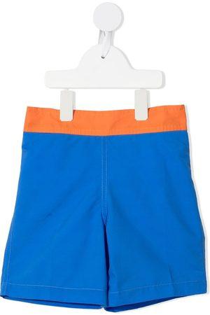 BONTON Colour-block swim shorts