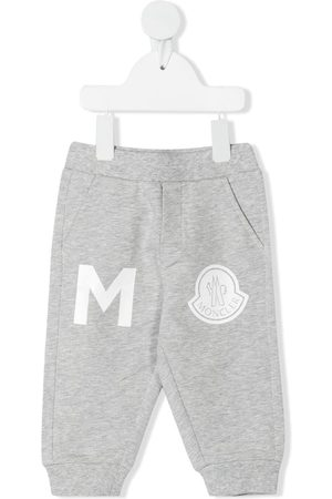 Moncler Logo-patch track pants - Grey