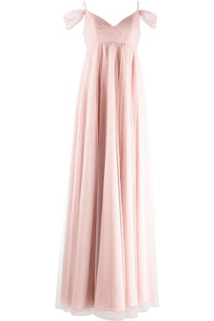 Marchesa Notte Women Evening dresses - Isernia cold-shoulder bridesmaid gown