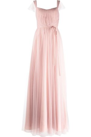 Marchesa Notte Bridesmaids Women Evening dresses - Frascati cap-sleeve bridesmaid gown