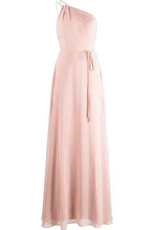 Marchesa Notte Women Evening dresses - Pescara one-shoulder bridesmaid gown - Neutrals