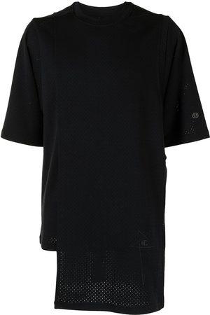 Rick Owens Men Short Sleeve - Asymmetric short-sleeved T-shirt
