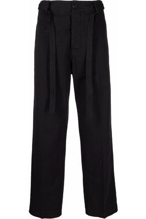 CRAIG GREEN Men Straight Leg Pants - Tie-front straight-leg trousers