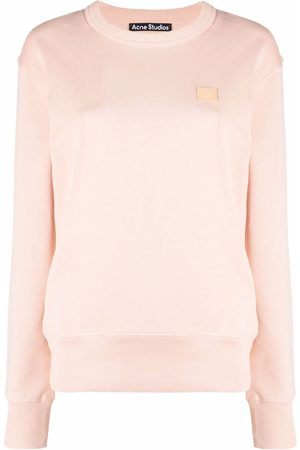 Acne Studios Face patch oversized sweatshirt