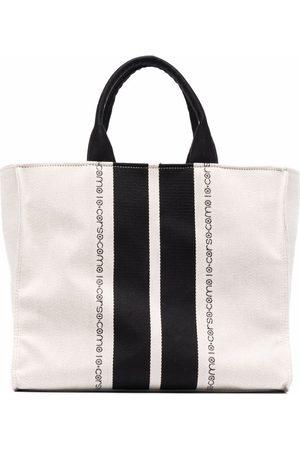 10 CORSO COMO Logo-print tote bag - Neutrals