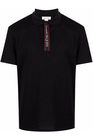 Alexander McQueen Logo band polo shirt