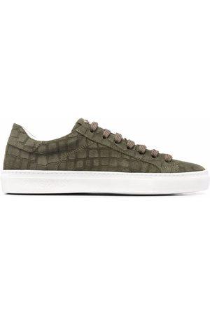 HIDE&JACK Men Sneakers - Croc-effect suede sneakers
