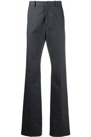 RAF SIMONS Tailored straight-leg trousers - Grey