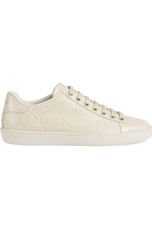 Gucci Ace GG embossed low-top sneakers