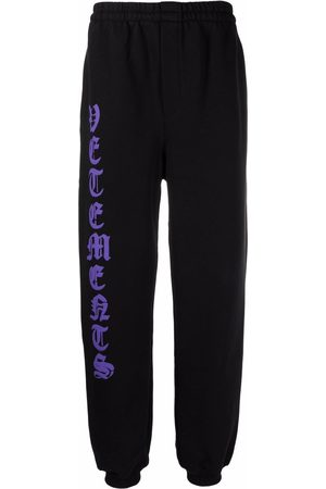 Vetements Logo-print track pants