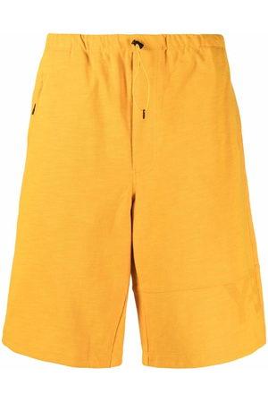 Y-3 Men Bermudas - Drawstring track shorts
