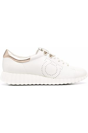 Salvatore Ferragamo Women Sneakers - Gancini low-top sneakers
