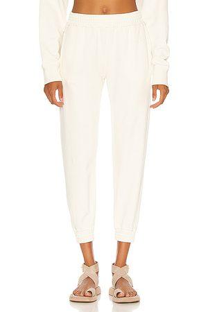 RTA Women Sweatpants - Sydney Pant in Ivory