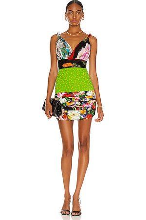 Dolce & Gabbana Women Party Dresses - Mini Tubino Dress in Green