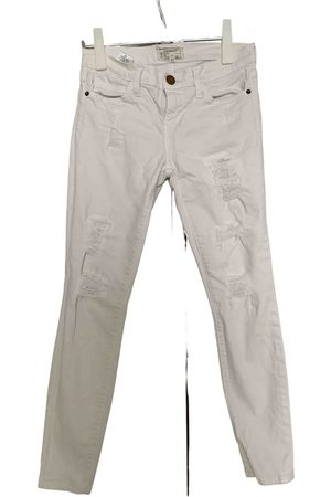 Current/Elliott \N Cotton Trousers for Women
