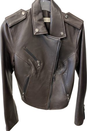 UTERQUE Women Leather Jackets - \N Leather Leather Jacket for Women