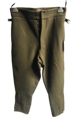 Miu Miu Men Pants - \N Wool Trousers for Men