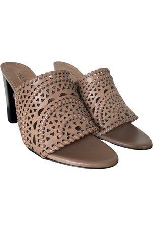 Alaïa Women Sandals - \N Leather Sandals for Women