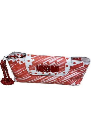 Moschino Women Clutches - \N Leather Clutch Bag for Women