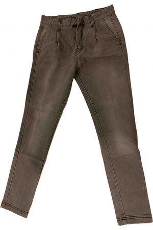 FRANKIE MORELLO \N Cotton - elasthane Jeans for Men