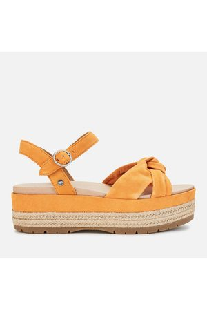 UGG Women Sandals - Women's Trisha Suede Flatform Sandals