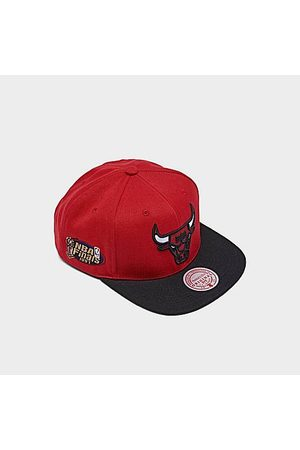 Mitchell And Ness Hats - Mitchell & Ness Chicago Bulls NBA 1997 Finals Patch Snapback Hat in /