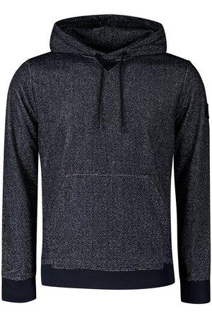 HUGO BOSS Weknit Long Sleeve Polo Shirt L Dark Blue