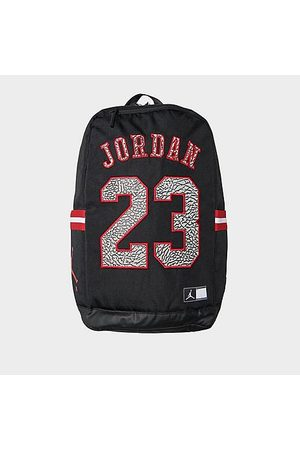 Nike Jordan Jersey Backpack in / Leather/100% Polyester/Jersey