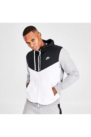 Nike Men's Sportswear Hybrid Fleece Full-Zip Hoodie Size Small Cotton/Polyester/Fleece