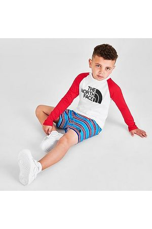 The North Face Toddler and Little Kids' Long-Sleeve T-Shirt and Shorts Sun Set in / Size 2 Toddler Polyester/Knit