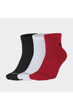 Nike Jordan Everyday Max 3-Pack Ankle Socks Size Large Nylon/Polyester/Spandex