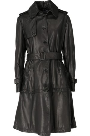Emanuel Ungaro \N Leather Coat for Women
