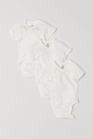 H&M 3-pack Wrapover Bodysuits