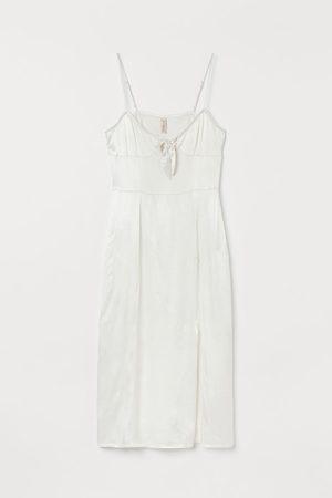 H&M Satin Slip-style Dress