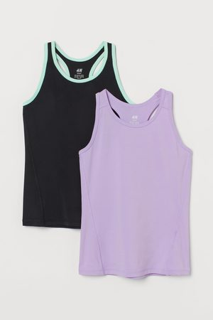 H & M 2-pack Sports Tank Tops