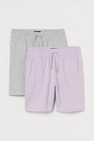 H&M 2-pack Regular Fit Sweatshorts