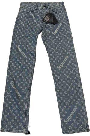 Supreme Men Jeans - \N Cotton Jeans for Men