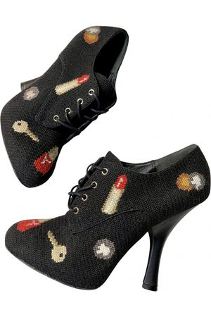 Dolce & Gabbana Women Ankle Boots - \N Cloth Ankle boots for Women