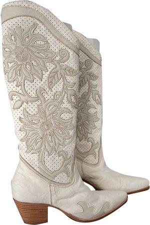 Roberto Cavalli \N Leather Boots for Women
